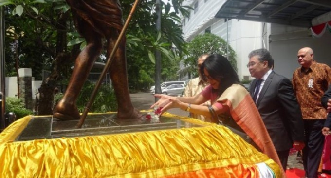 Indian embassy in Jakarta celebrates Gandhi Jayanti