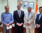 Historic moment in the journey of Diplomacyindia.com : Exclusive Interview & Interaction with Prime Minister of Guyana, H. E. Mr Moses Veerasammy Nagamootoo at the High Commission of Guyana in New Delhi.