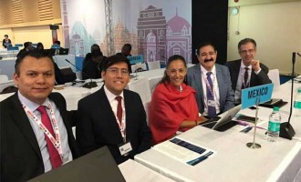 MEXICAN DELEGATION DISCUSSES TOBACCO CONTROL AT DELHI INTERNATIONAL COP MEET