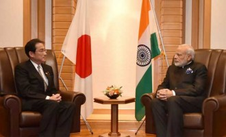 Japanese ministers call on Modi