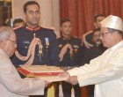 High Commissioner-designate of Myanmar, U. Maung Wai presenting his credentials to the President,