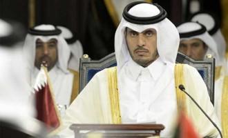 Qatari PM meets Indian businessmen