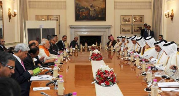 Modi, Qatar PM hold delegation-level talks
