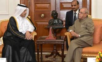 Prime Minister of Qatar Calls on President