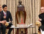 President of Indonesia, Joko Widodo meeting the President, Pranab Mukherjee, at Rashtrapati Bhavan,