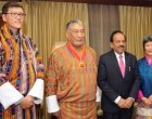Minister for Science & Technology and Earth Sciences, Dr. Harsh Vardhan at the National Day of Bhutan