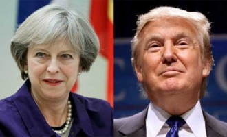British PM to meet Trump in US