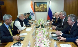 Modi discusses strategic partnership with Russian Deputy PM