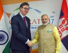 Modi seeks more trade between India and Serbia