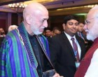 PM, Narendra Modi at the Opening Session of the Second Raisina Dialogue with the former President of the Islamic Republic of Afghanistan, Hamid Karzai