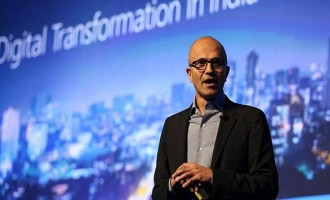 Nadella unveils 'Project Sangam', 'Made for India' Skype Lite app