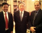 Diplomacyindia.com with Taiwan Representative to India, Ambassador Mr. Chung-Kwang Tien at a dinner reception on the occasion of The India-Taiwan Parliamentary Friendship Forum (ITPFF).