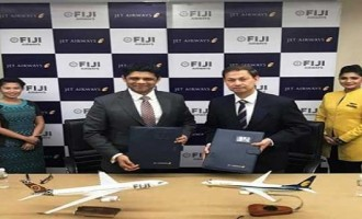 Jet Airways enters into codeshare partnership with Fiji Airways