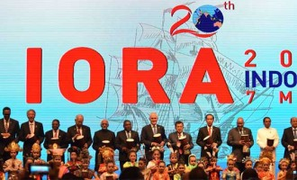 Vice President, M. Hamid Ansari at the opening ceremony of the 20th IORA Leaders' Summit,