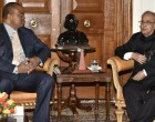 KING OF SWAZILAND CALLS ON THE PRESIDENT