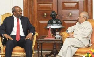 Prime Minister of Uganda Calls on President