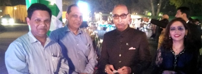 Diplomacyindia.com at the National Day Reception of Pakistan High Commission New Delhi
