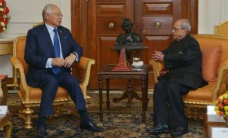 PRIME MINISTER OF MALAYSIA CALLS ON PRESIDENT