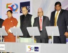 Minister for Finance, Corporate Affairs and Defence, Arun Jaitley along with the Finance Ministers of Bangladesh, Bhutan, Maldives, Myanmar, Nepal, Sri Lanka