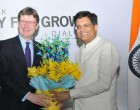 MoS for Power, Coal, New and Renewable Energy and Mines (IC), Piyush Goyal and the UK Secretary of State for Business, Energy and Industrial Strategy, Greg Clark