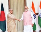 Modi meets Bangladesh PM