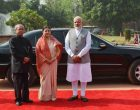 Nepal President accorded ceremonial welcome