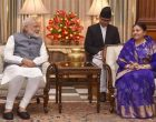 Modi holds 'fruitful talks' with Nepal President