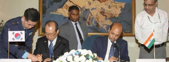 India, South Korea sign MoU on shipbuilding