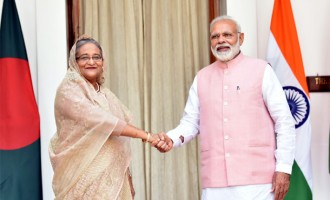 Modi, Sheikh Hasina launch India-Bangladesh rail, bus services