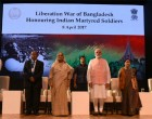 Bangladesh PM salutes Indians who died in 1971 war