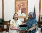 Lok Sabha Speaker meets Bangladesh PM