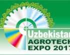 Uzbekistan Agrotech Expo to start from 30 May – 02 June 2017 in Tashkent