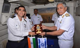 Indian Naval ships visit Israel ahead of PM's visit