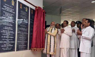 Modi inaugurates multi-specialty hospital in Sri Lanka