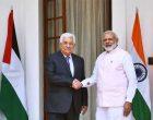 Modi meets Palestine President