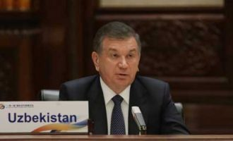 SHAVKAT MIRZIYOYEV SPOKE AT THE BELT AND ROAD FORUM