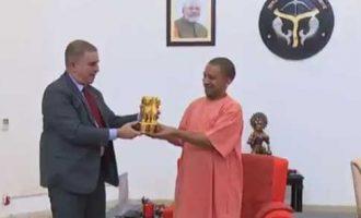 Israeli envoy meets Adityanath, discusses cooperation