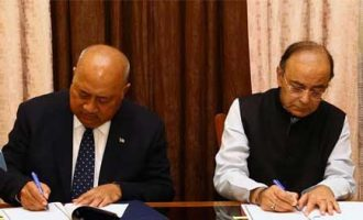 INDIA AND FIJI SIGN MOU ON DEFENCE COOPERATION