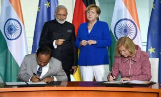 Modi, Merkel ink 12 MoUs, agree to further boost strategic partnerhsip, fight against terror