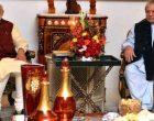 Modi meets Sharif in Kazakhstan