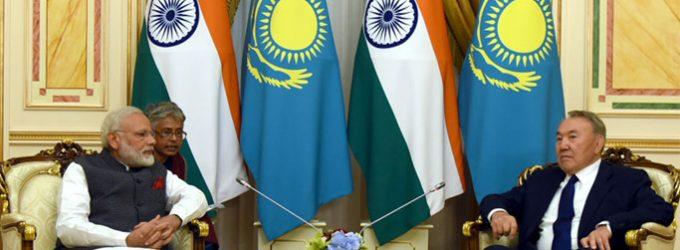 PM Modi in Kazakhstan, India to become full SCO member