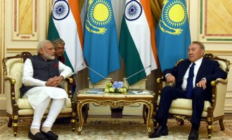 PM Modi in Kazakhstan, India to become full SCO member