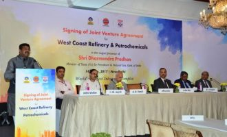 India's 3 downstream Oil PSU's sign JV agreement for world's largest integrated Refinery-cum-Petrochemicals complex
