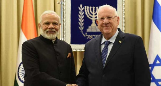 India, Israel agree on strategic partnership in water, agriculture