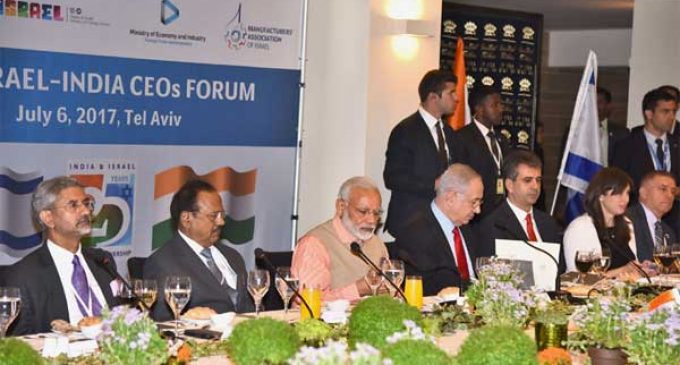 India-Israel CEOs Forum: New chapter in bilateral ties, says Modi