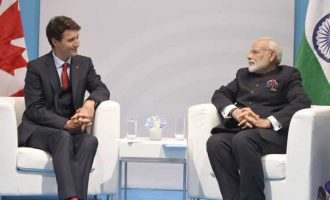 Modi meets Canadian PM