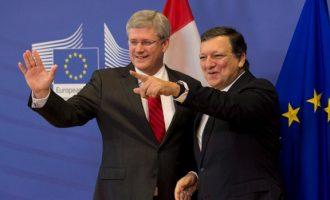 EU, Canada to provisionally start free trade deal