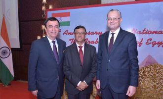 Glimpses from National Day Reception hosted by Embassy of Egypt in New Delhi