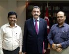 Diplomacyindia.com with Ambassador of Turkey to India, H.E. Mr. Sakir Ozkan Torunlar at the Embassy of Turkey in New Delhi