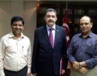 Diplomacyindia.com with Ambassador of Turkey to India, H.E. Mr. Sakir Ozkan Torunlar at the Embassy of Turkey in New Delhi